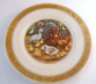Vintage Royal Copenhagen Hans Christian Andersen The Ugly Duckling Plate